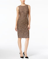 Catherine Malandrino Janine Embellished Tweed Sheath Dress