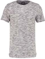 Jack & Jones Jornew Slim Fit Print Tshirt Cloud Dancer/stone Blue