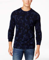 Club Room Men's Camo Cashmere Sweater, Created for Macy's