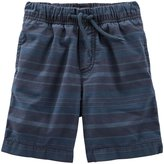 Osh Kosh Woven Short (Toddler/Kid) - Stripe - 5T