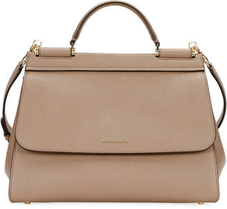 Dolce & Gabbana Sicily Soft Top-Handle Bag