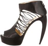 Walter Steiger Platform Leather Sandals