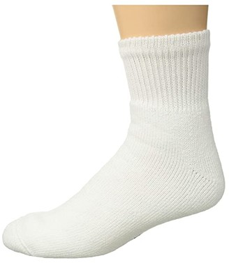 Wigwam King Cotton Low (White) Crew Cut Socks Shoes
