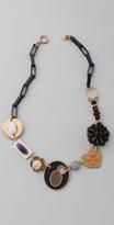 Enamel Link Necklace