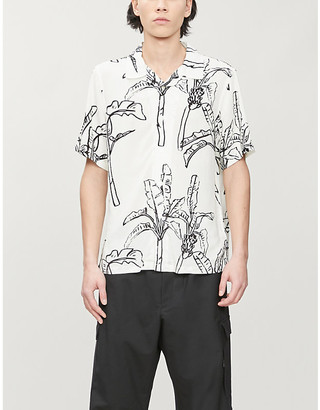 Stussy Graphic-print woven shirt