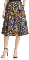 Lafayette 148 New York Suzie Paisley Skirt