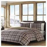 Eddie Bauer Port Gamble Plaid Duvet Cover And Sham Set Navy