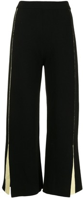 PortsPURE Cropped Knit Trousers