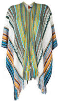 Missoni zigzag fringed cardigan