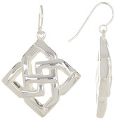 Simon Sebbag Sterling Silver Openwork Drop Earrings
