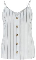 Oasis Stripe Button Cami