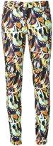 Kenzo 'Torn Flowers' skinny jeans - women - Cotton/Spandex/Elastane - 36