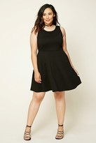 Forever 21 FOREVER 21+ Plus Size Skater Dress