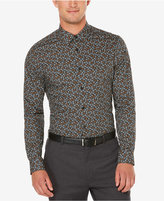 Perry Ellis Men's Big & Tall Non-Iron Exclusive Stormy Floral Print Shirt