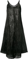 Jil Sander chunky knit dress