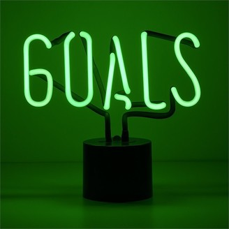 Amped & Co Neon Goals Table Lamp
