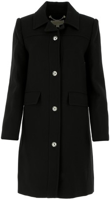 MICHAEL Michael Kors Single Breasted Buttoned Coat