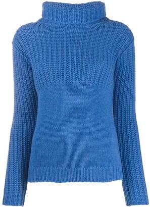 Liska Contrast Knit Cashmere Jumper