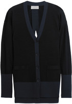 DKNY Merino Wool Cardigan - Black