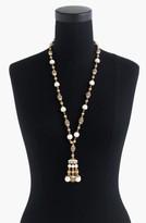 J.Crew Women's Beaded Drop Necklace