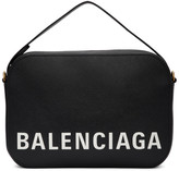 Balenciaga Black Ville Camera Bag