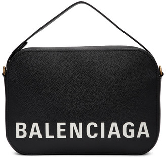Balenciaga Black Ville Camera Bag