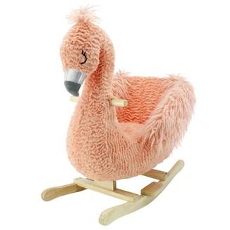 Animal Adventure Soft Landing Joyrides Rocker - Flamingo