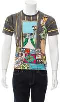 Dolce & Gabbana Monkey Drawing Print T-Shirt