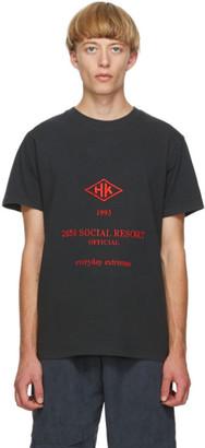 Han Kjobenhavn Black Artwork T-Shirt