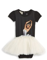 Rock Your Baby Infant Girl's Dance Rehearsal Circus Tank Bodysuit Dress