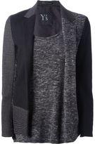 Y's sweater blazer