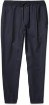 McQ Alexander McQueen - Tapered Stretch-Wool Felt Drawstring Trousers