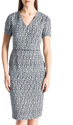 David Lawrence Kinsley Pencil Dress