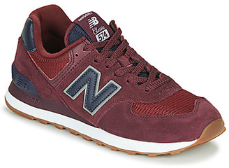New Balance 574 women's Shoes (Trainers) in Bordeaux