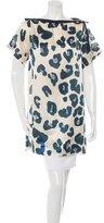 Sonia Rykiel Silk-Blend Leopard Print Tunic