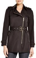 MICHAEL Michael Kors Zip Trench Coat