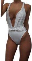 Tenworld Women One-piece Swimwear Bikini Bandage Swimsuit Bodysuit