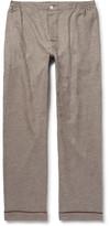 Sleepy Jones - David Coggins Houndstooth Cotton-Flannel Pyjama Trousers