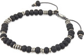 M. Cohen Monarch templar sterling disc and labradorite bracelet