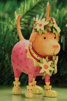 Patience Brewster Krinkles Yellow Labrador Dog Lending Light Christmas Ornament
