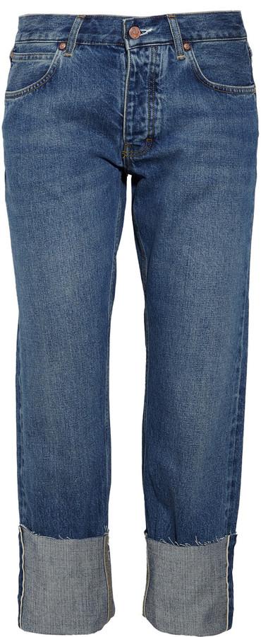 MiH Jeans Phoebe mid-rise boyfriend-fit jeans