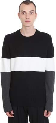 Theory Knitwear In Black Wool