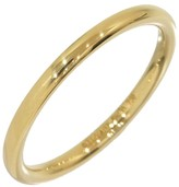 Tiffany & Co. 18K Yellow Gold Simple Wedding Ring Size 4.25