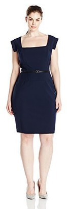 Single Dress Women's Plus Size Veronika Sheath Dress