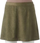 Candies Juniors' Candie's® Laser-Cut Skirt