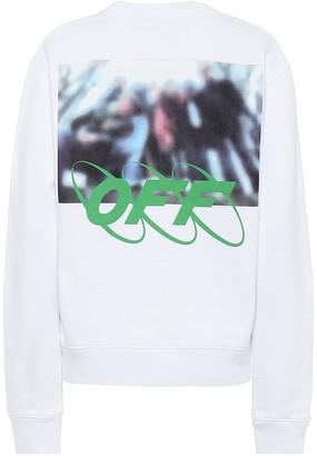 Off-White Off White Logo cotton sweatshirt