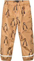Mini Rodini Brown Edelweiss Low Trousers