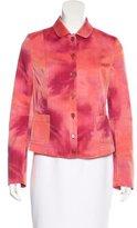 Akris Punto Watercolor Button-Up Jacket