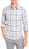 Bonobos Men's 'Curlew Lake' Slim Fit Check Flannel Sport Shirt