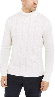 Tasso Elba Men Cashmere Textured Turtleneck Sweater